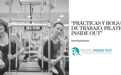 """Prácticas y bolsa de trabajo, Pilates Inside Out"""