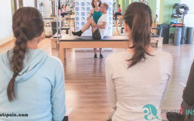 Ejercicios de calentamiento para hacer Pilates sin lesionarse