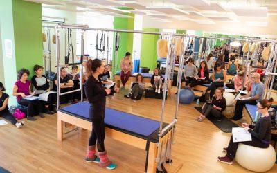 Opciones de formación en Pilates Inside Out